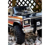 Metall Front Rear Stoßstange Bumper für 1//10 Traxxas TRX4 Ford Bronco RC Auto