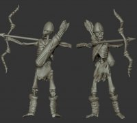 dungeons and dragons skeleton