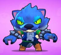 coloring and drawing: brawl stars werewolf leon coloring pages