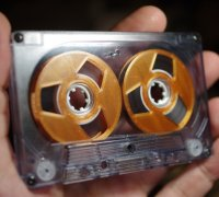 Reel Clear Green Reel to Reel Cassette Tapes