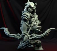 Tabaxi Ranger 3d Models To Print Yeggi Doesn't matter supports female tabaxi cleric with a tree sigil on her shield for one of my pcs. tabaxi ranger 3d models to print yeggi
