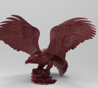 Independence Day - Bald Eagle Free Papercraft Download ... | 180x200