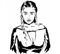 Daenerys Targaryen 3d Models To Print Yeggi Page 2