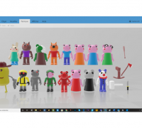 Roblox 3d Models To Print Yeggi