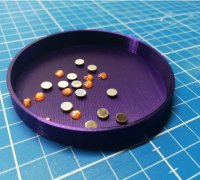 3D printed Diamond Painting Tray The Stacker In 9 Silk Colors