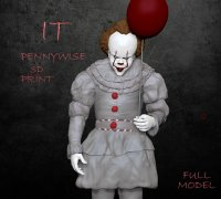 Pennywise It 3d Models To Print Yeggi