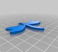 Coraline Dragonfly Hair Clip 3d Models To Print Yeggi