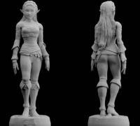 Princess Zelda 3D Print Models for Cosplay