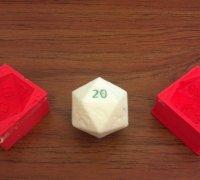 d20 dice mold