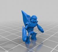 Grunt Minor Kamikaze Halo Reach 3D Model STL File 3D Print