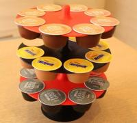 3 posti 3d models to print yeggi - Porta cialde nescafe dolce gusto ...