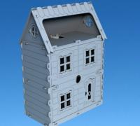 lasercut doll house
