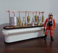 3d printed Star wars cantina main bar section