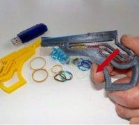 Quot Mini Rubber Band Gun Quot 3d Models To Print Yeggi