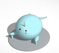 Narwhal 3d Models To Print Yeggi