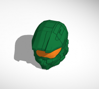 Halo 4 Master Chief Helmet 3d Models To Print Yeggi